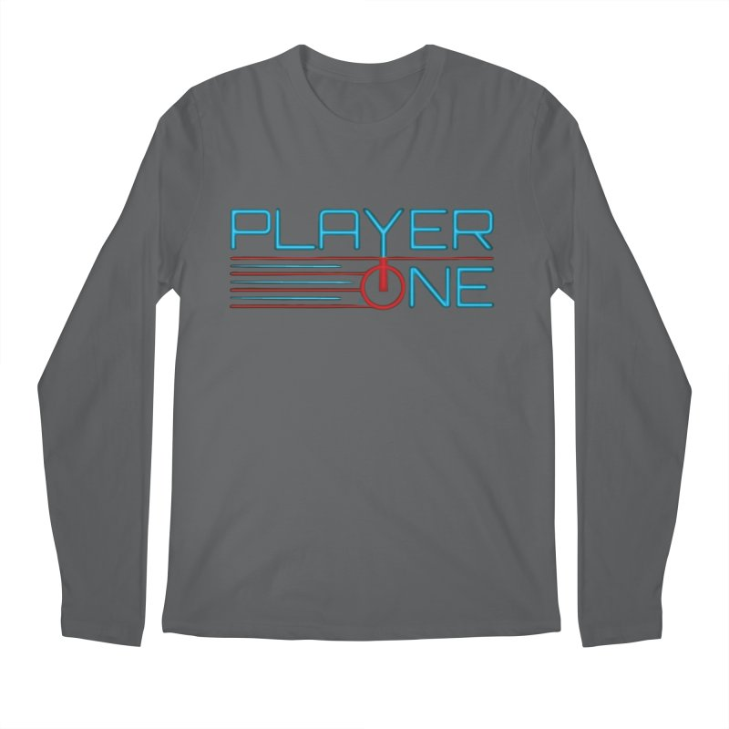 Player One T-Shirt Men's Longsleeve T-Shirt by itsmarkcooper's Artist Shop