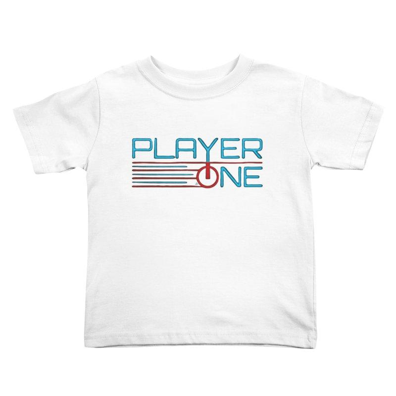 Player One T-Shirt Kids Toddler T-Shirt by itsmarkcooper's Artist Shop