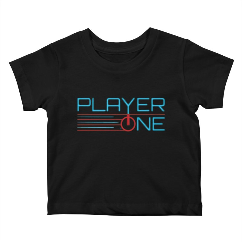 Player One T-Shirt Kids Baby T-Shirt by itsmarkcooper's Artist Shop