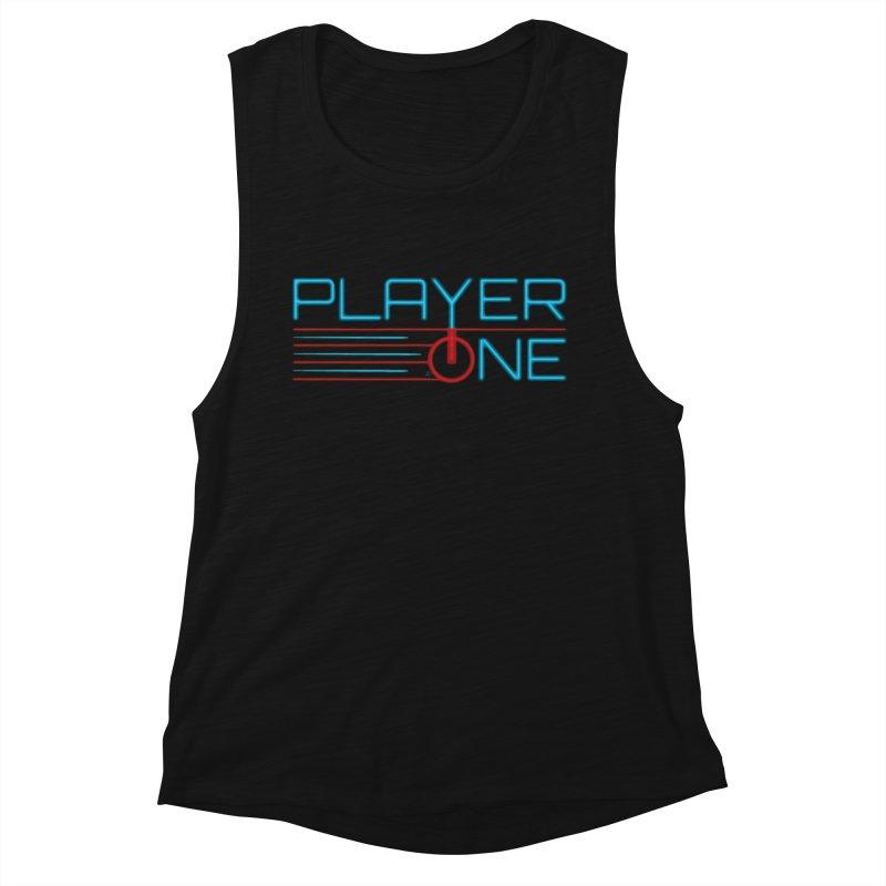 Player One T-Shirt Women's Tank by itsmarkcooper's Artist Shop