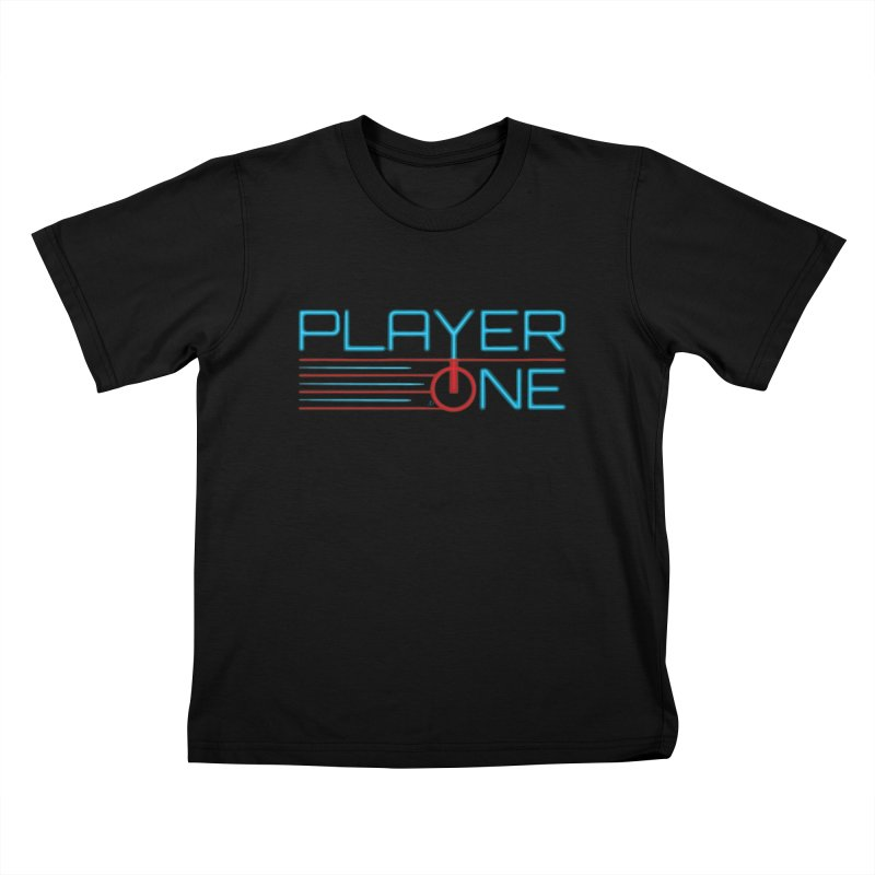 Player One T-Shirt Kids T-Shirt by itsmarkcooper's Artist Shop