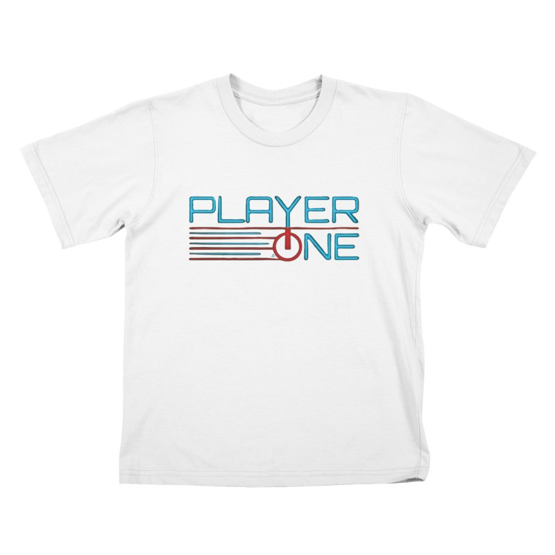 Player One T-Shirt Kids T-Shirt by itsmarkcooper's Artist Shop