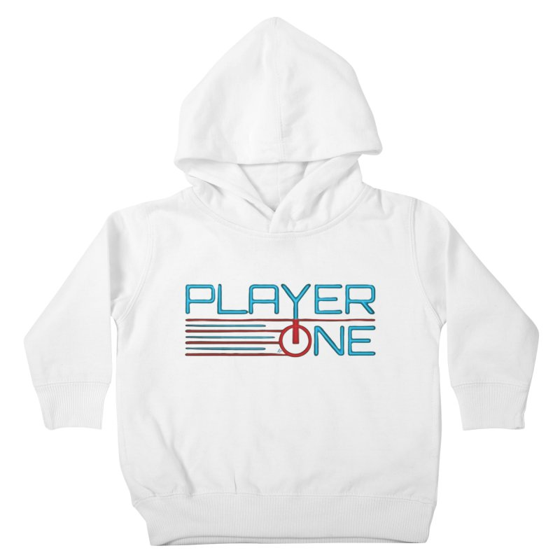Player One T-Shirt Kids Toddler Pullover Hoody by itsmarkcooper's Artist Shop