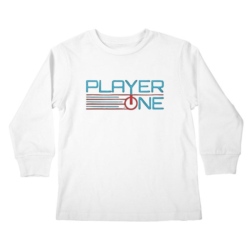 Player One T-Shirt Kids Longsleeve T-Shirt by itsmarkcooper's Artist Shop