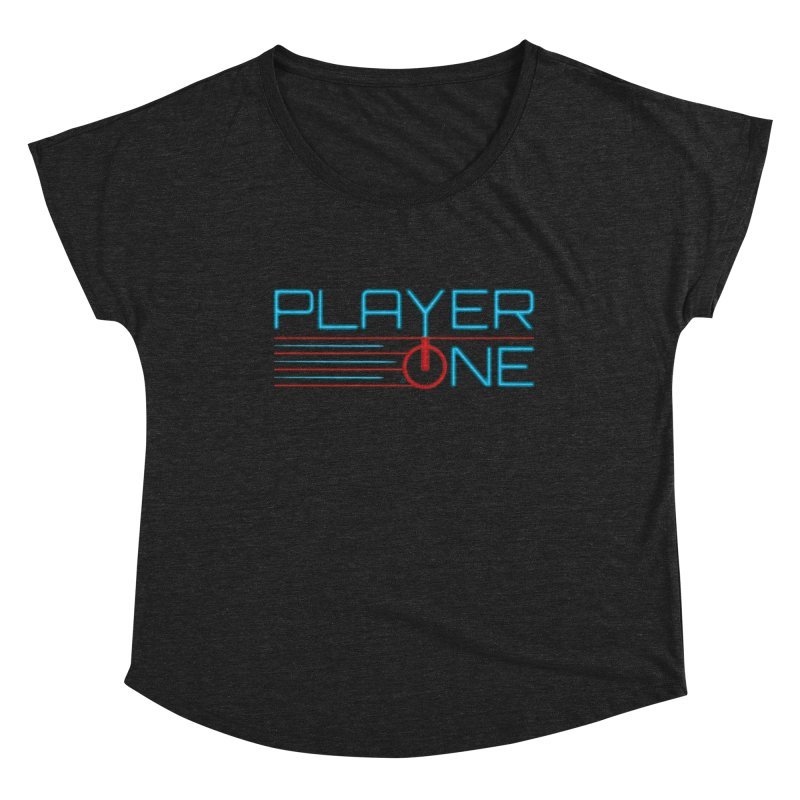 Player One T-Shirt Women's Scoop Neck by itsmarkcooper's Artist Shop