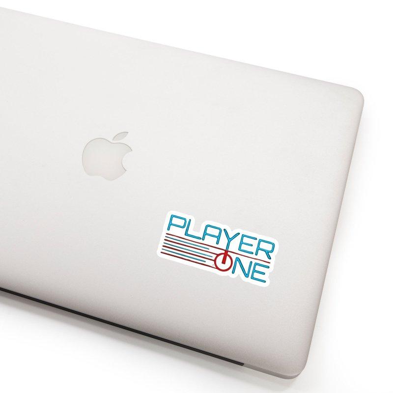 Player One T-Shirt Accessories Sticker by itsmarkcooper's Artist Shop