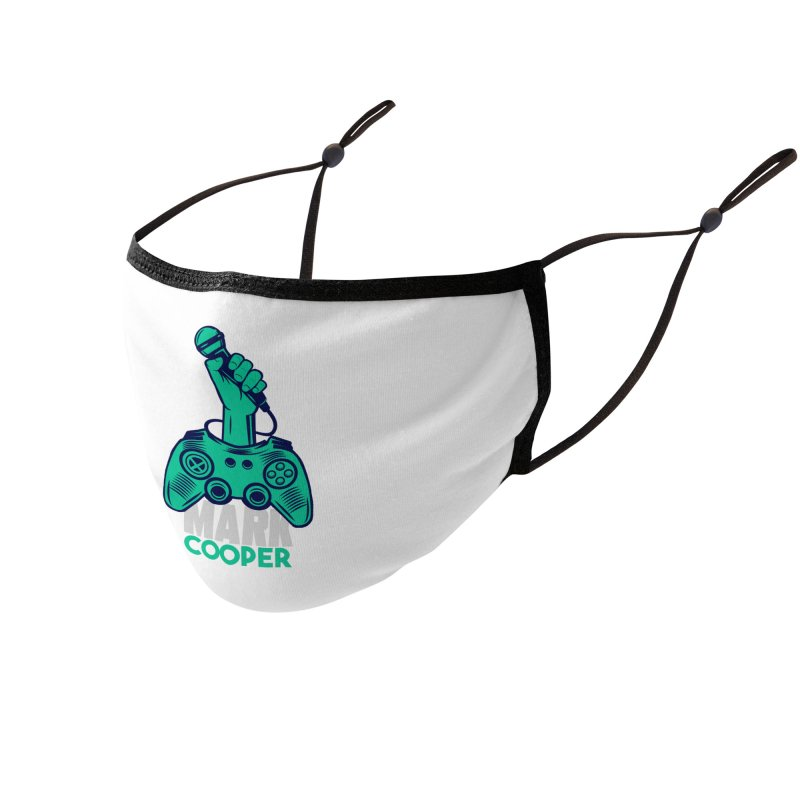 Mark Cooper Logo Accessories Face Mask by itsmarkcooper's Artist Shop