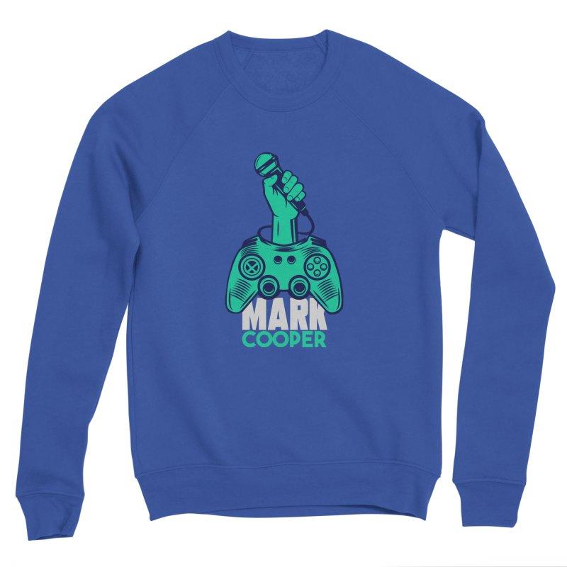 Mark Cooper Logo Men's Sweatshirt by itsmarkcooper's Artist Shop