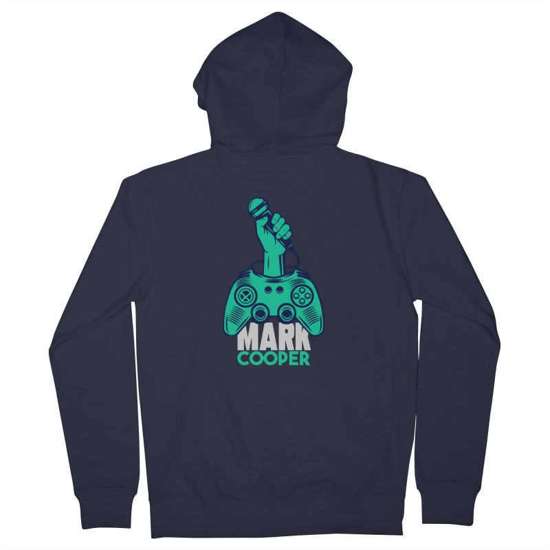 Mark Cooper Logo Women's Zip-Up Hoody by itsmarkcooper's Artist Shop