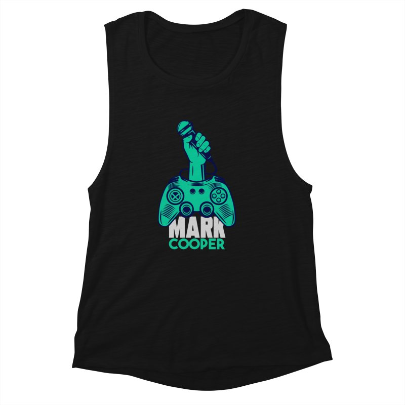 Mark Cooper Logo Women's Tank by itsmarkcooper's Artist Shop