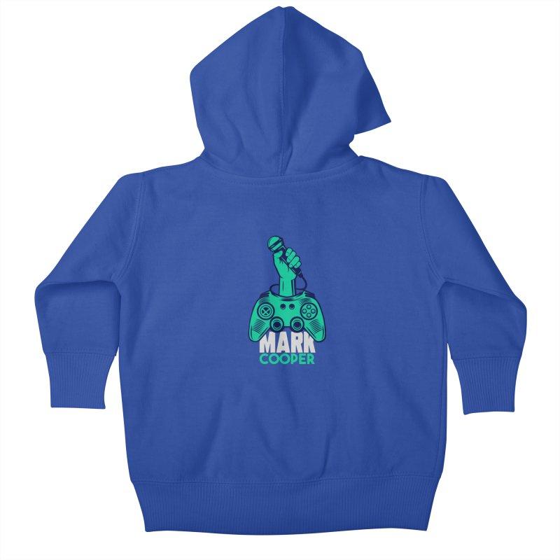 Mark Cooper Logo Kids Baby Zip-Up Hoody by itsmarkcooper's Artist Shop