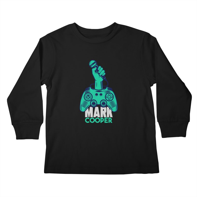 Mark Cooper Logo Kids Longsleeve T-Shirt by itsmarkcooper's Artist Shop