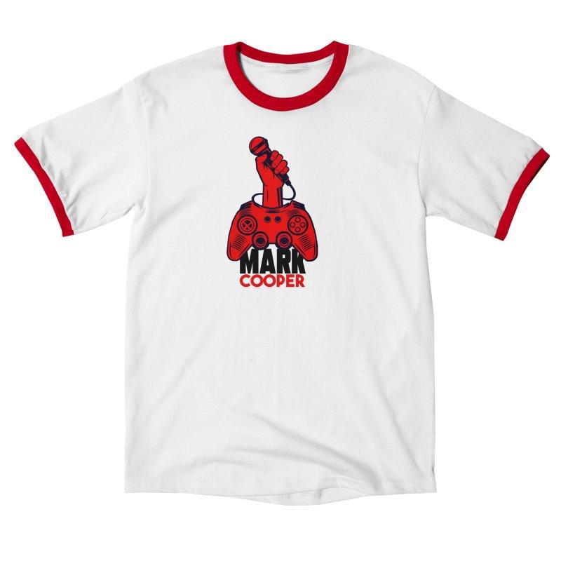 Mark Cooper (Red n Black) Logo Men's T-Shirt by itsmarkcooper's Artist Shop