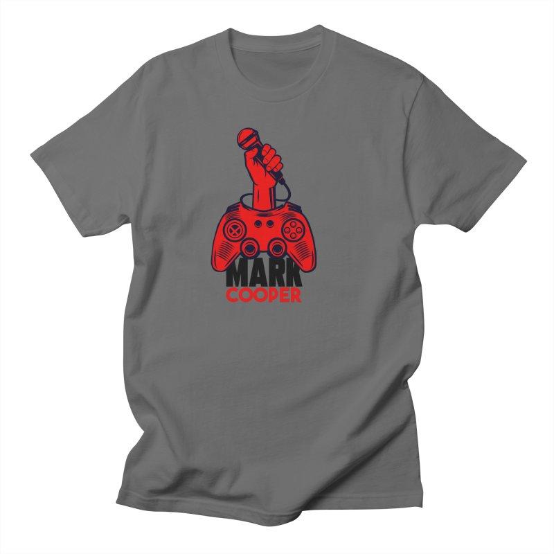 Mark Cooper (Red n Black) Logo Women's T-Shirt by itsmarkcooper's Artist Shop