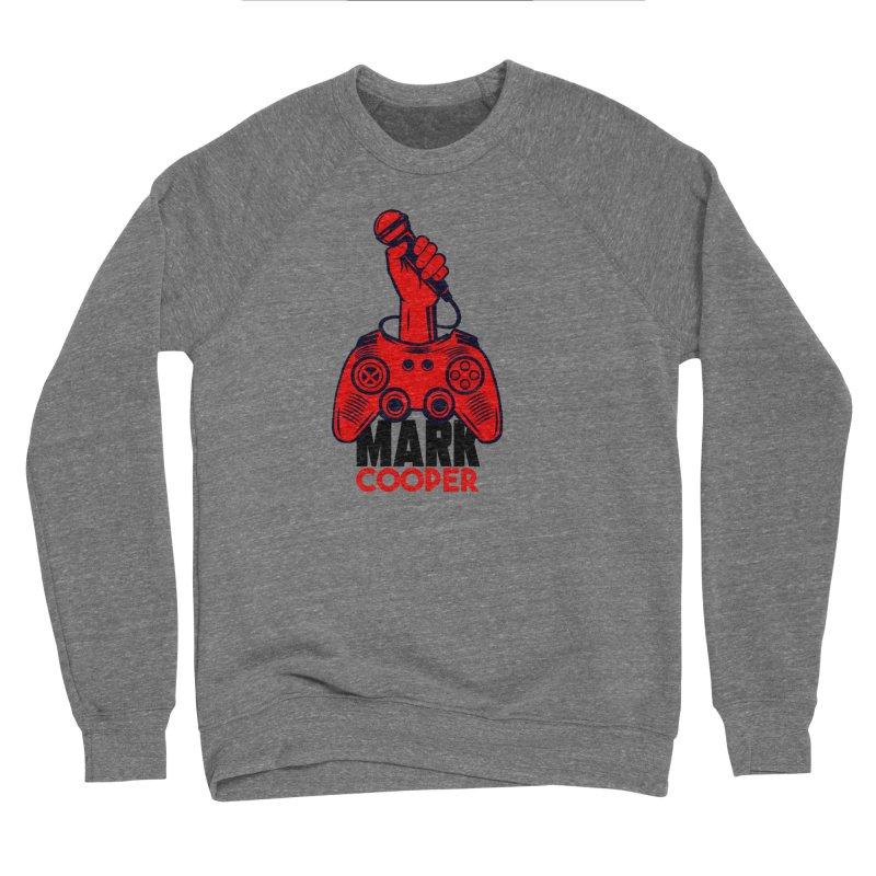 Mark Cooper (Red n Black) Logo Women's Sweatshirt by itsmarkcooper's Artist Shop