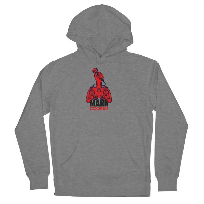 Mark Cooper (Red n Black) Logo Women's Pullover Hoody by itsmarkcooper's Artist Shop