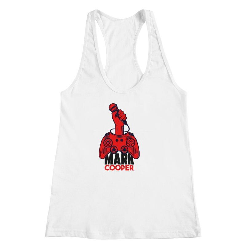 Mark Cooper (Red n Black) Logo Women's Tank by itsmarkcooper's Artist Shop
