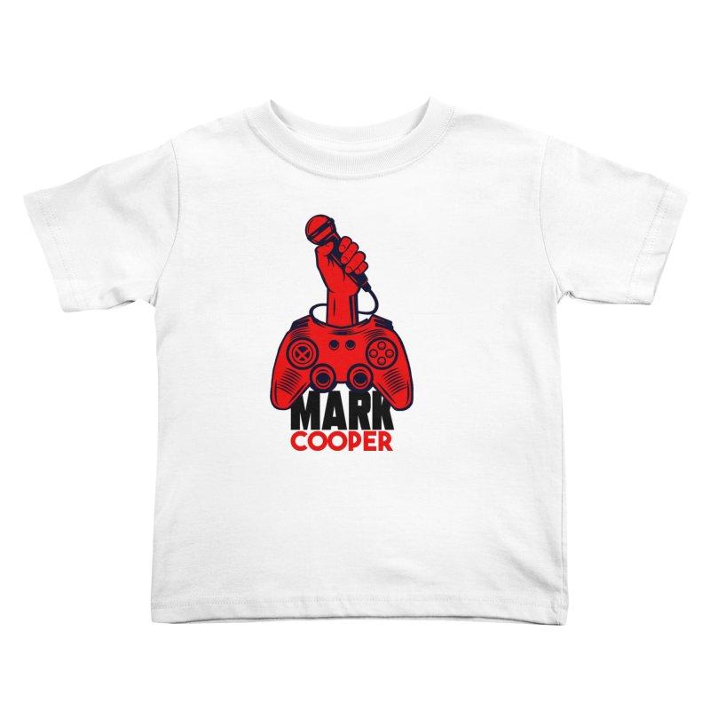 Mark Cooper (Red n Black) Logo Kids Toddler T-Shirt by itsmarkcooper's Artist Shop