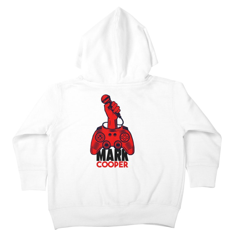 Mark Cooper (Red n Black) Logo Kids Toddler Zip-Up Hoody by itsmarkcooper's Artist Shop