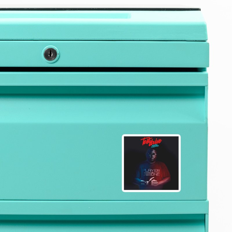 Test Drive Album Cover Accessories Magnet by itsmarkcooper's Artist Shop