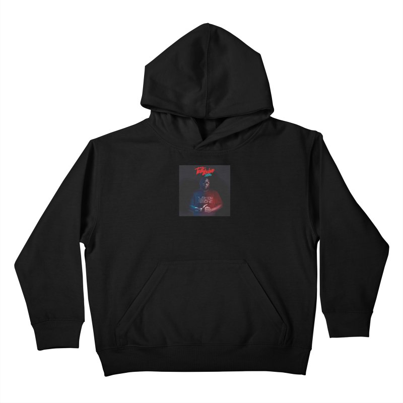 Test Drive Album Cover Kids Pullover Hoody by itsmarkcooper's Artist Shop