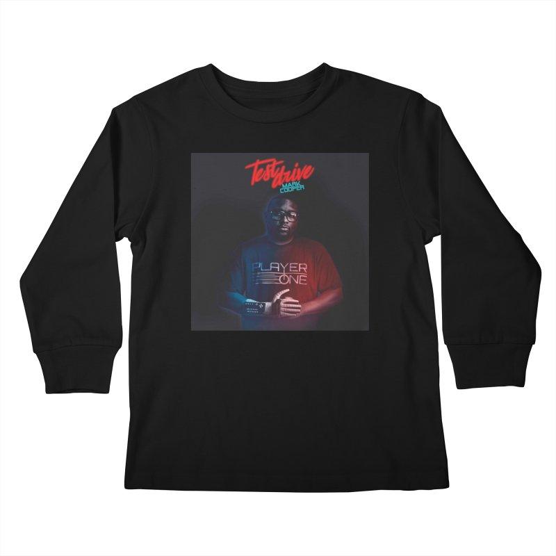 Test Drive Album Cover Kids Longsleeve T-Shirt by itsmarkcooper's Artist Shop