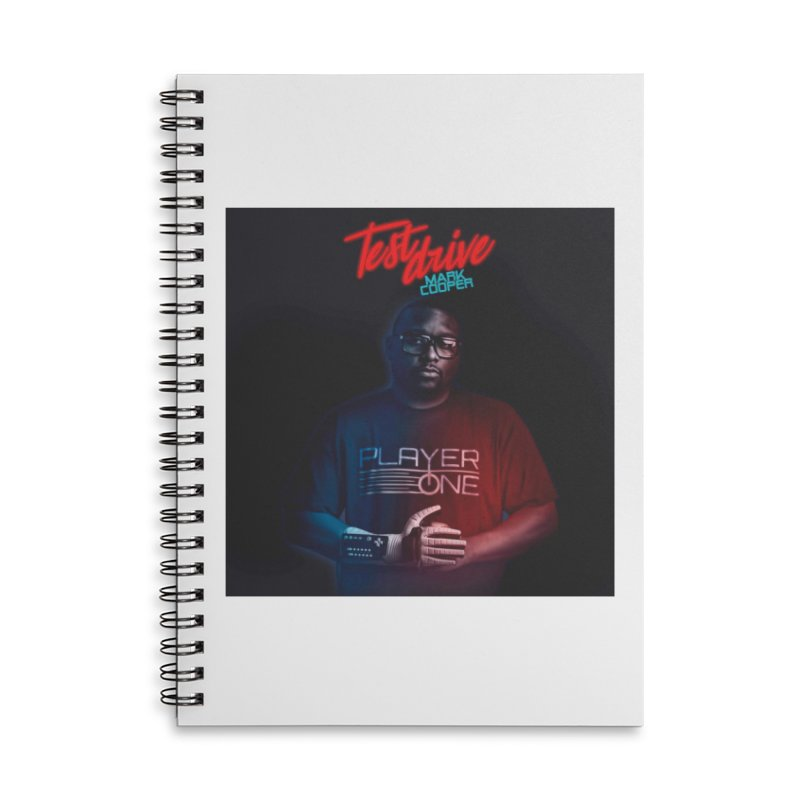 Test Drive Album Cover Accessories Notebook by itsmarkcooper's Artist Shop