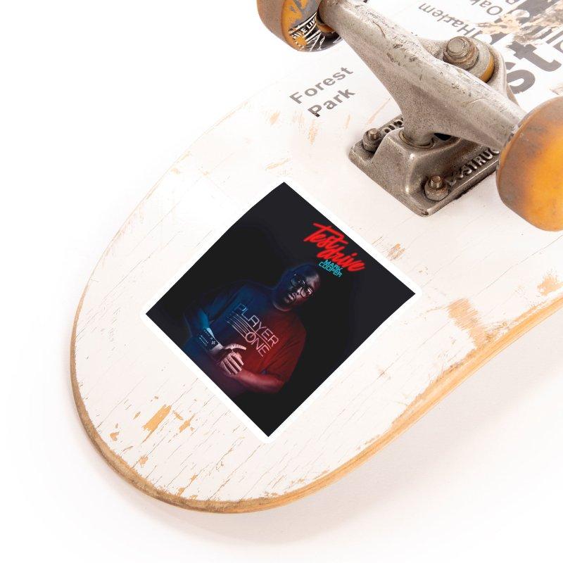 Test Drive Album Cover Accessories Sticker by itsmarkcooper's Artist Shop