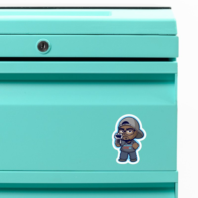 Chibi Player One Accessories Magnet by itsmarkcooper's Artist Shop