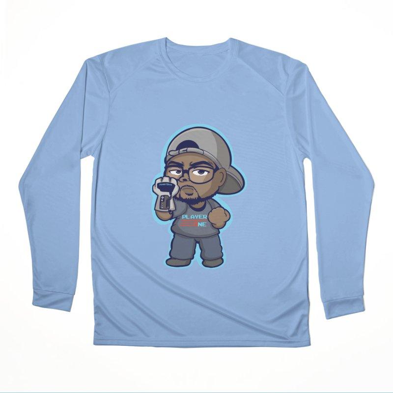 Chibi Player One Women's Longsleeve T-Shirt by itsmarkcooper's Artist Shop