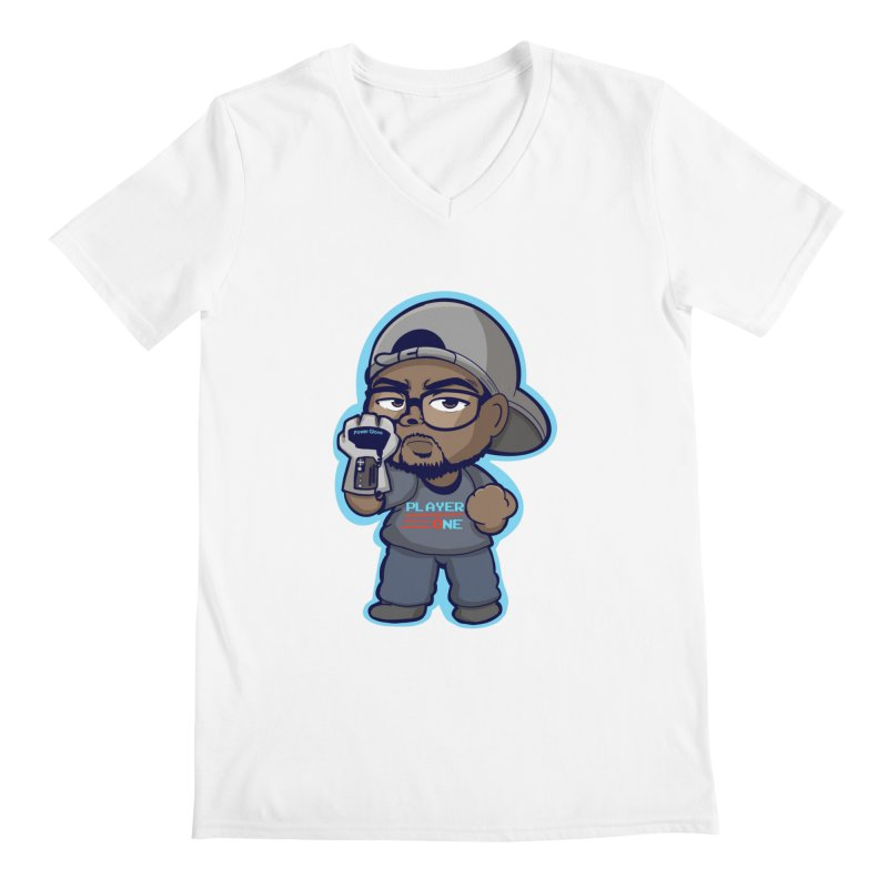 Chibi Player One Men's V-Neck by itsmarkcooper's Artist Shop