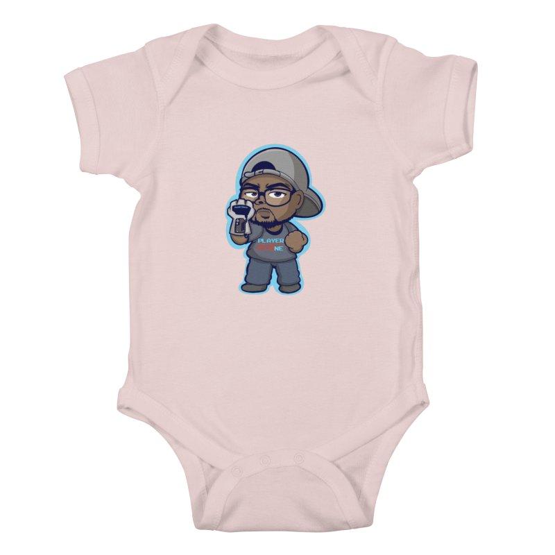 Chibi Player One Kids Baby Bodysuit by itsmarkcooper's Artist Shop