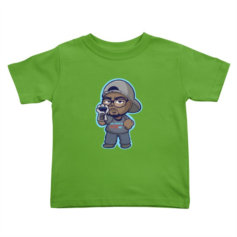 Chibi Player One Kids Toddler T-Shirt by itsmarkcooper's Artist Shop