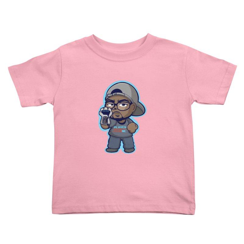 Chibi Player One Kids Toddler T-Shirt by itsmarkcooper's Artist Shop