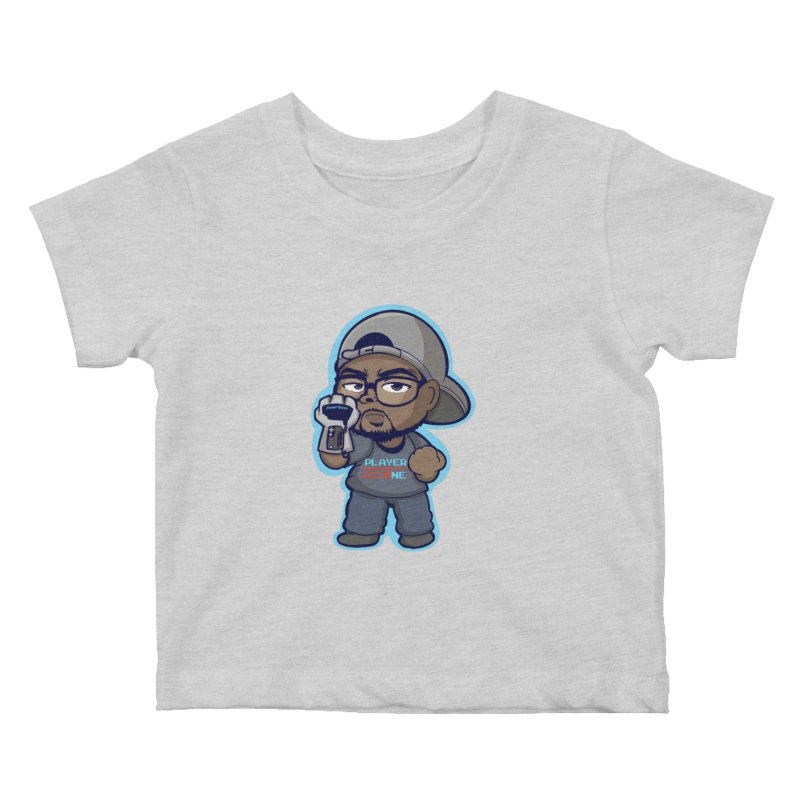 Chibi Player One Kids Baby T-Shirt by itsmarkcooper's Artist Shop
