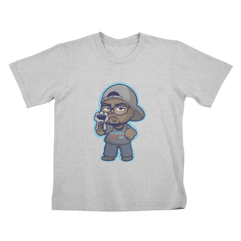Chibi Player One Kids T-Shirt by itsmarkcooper's Artist Shop