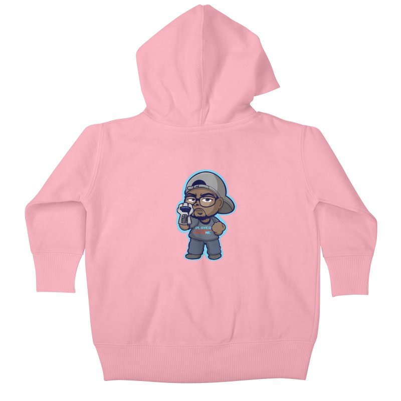 Chibi Player One Kids Baby Zip-Up Hoody by itsmarkcooper's Artist Shop
