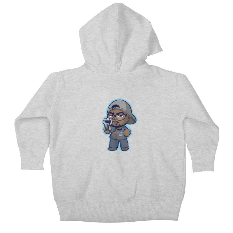 Chibi Player One Kids Baby Zip-Up Hoody by itsmarkcooper's Artist Shop