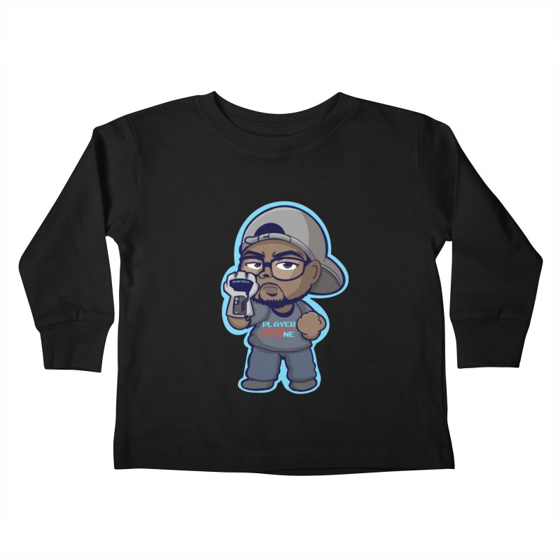 Chibi Player One Kids Toddler Longsleeve T-Shirt by itsmarkcooper's Artist Shop