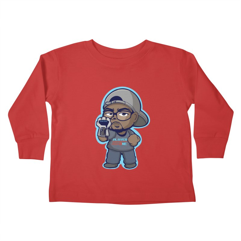 Chibi Player One Kids Toddler Longsleeve T-Shirt by itsmarkcooper's Artist Shop