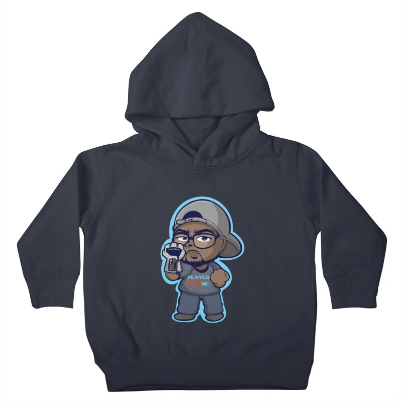 Chibi Player One Kids Toddler Pullover Hoody by itsmarkcooper's Artist Shop
