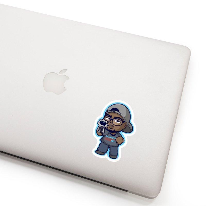 Chibi Player One Accessories Sticker by itsmarkcooper's Artist Shop