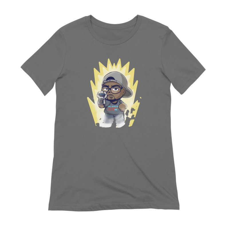 Power Up Player One Women's T-Shirt by itsmarkcooper's Artist Shop