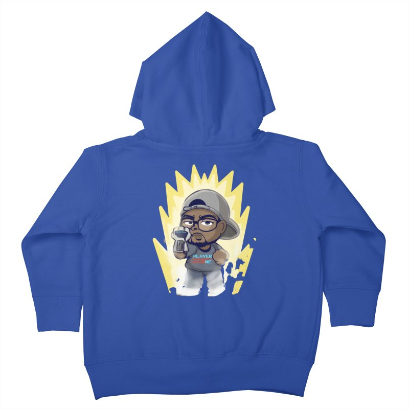 Power Up Player One Kids Toddler Zip-Up Hoody by itsmarkcooper's Artist Shop