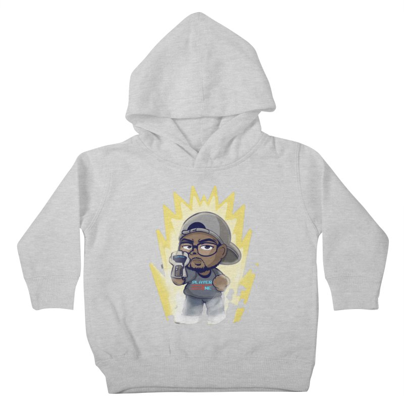 Power Up Player One Kids Toddler Pullover Hoody by itsmarkcooper's Artist Shop