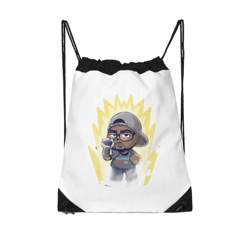 Power Up Player One Accessories Bag by itsmarkcooper's Artist Shop