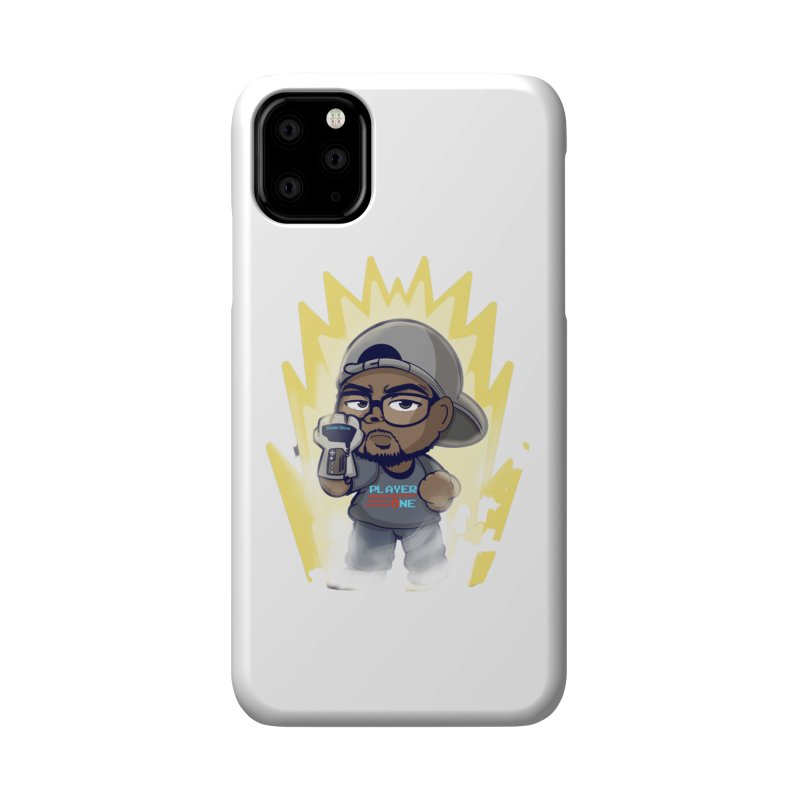 Power Up Player One Accessories Phone Case by itsmarkcooper's Artist Shop