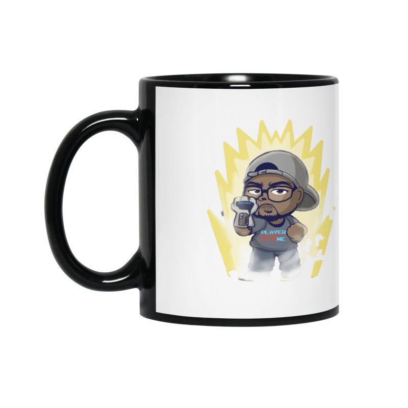 Power Up Player One Accessories Mug by itsmarkcooper's Artist Shop