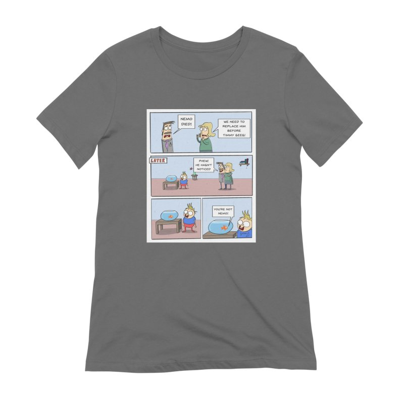 Replacing Nemo Comic - Scribbly G Women's T-Shirt by itsscribblyg's Artist Shop