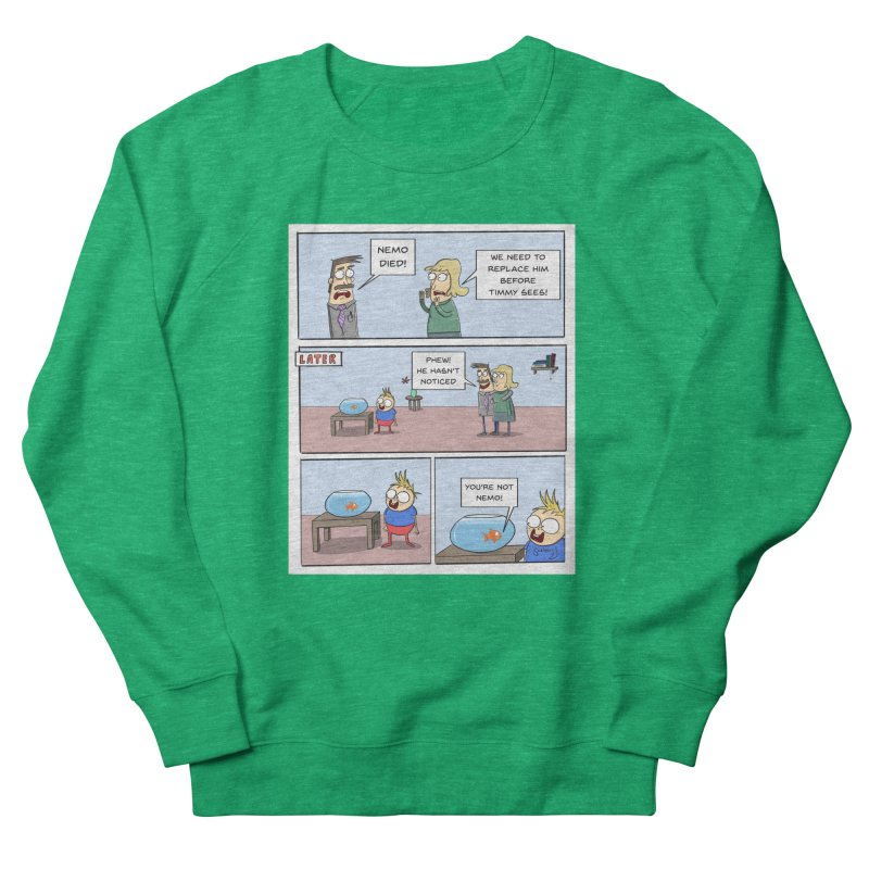 Replacing Nemo Comic - Scribbly G Women's Sweatshirt by itsscribblyg's Artist Shop